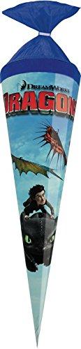 Dragons Schultüte/Zuckertüte/Länge: 35cm / rund
