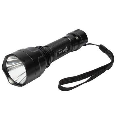 kengbi Equipo de iluminación para el hogar GU10 5 Modos Impermeable CREE Q5 1 LED Linterna de Aluminio Portable