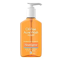 Neutrogena Oil-Free Acne Face Wash With Salicylic Acid