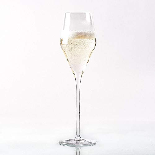 "Topkapi 250.479 - Champagnerglas ""Josephine"", bleifreies Kristallglas, Volumen 25 cl, Made in Germany, 6 Stück"