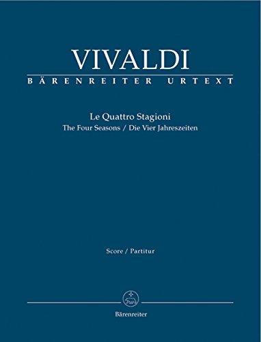 Die Vier Jahreszeiten - Solo Violin, 2 Violins, Viola and BC - Partitur