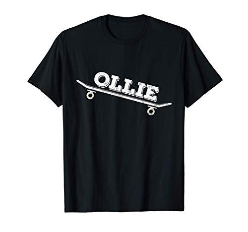 Skateboarder Ollie Skateboard Trick Kickflip Skater T-Shirt