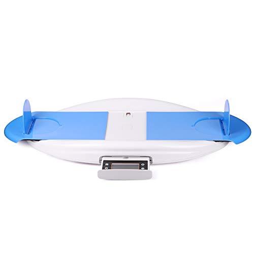 Bostar ベビースケール 体重計 身長測定 風袋引き機能 音楽モード 高精度 30kgの最大荷重 5g単位 プレゼント ブルー