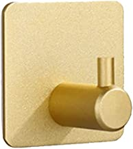 Zelfklevende handdoekhaak, badjashaak, aluminium, wandhaak, aluminium, roestvrij voor badkamer en keuken, kledinghaak, zon...