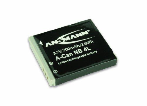Ansmann 5022263 - A-Can NB 4 Li-Ion, batería 3,7V/700mAh para cámara digital de fotos Canon