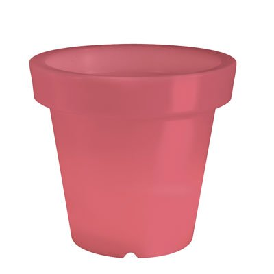BLOOM! Pot Lumineux Rouge de (H60cm x 66cm Diam)