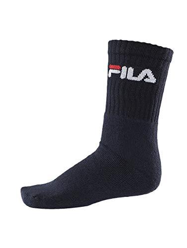 FILA CALZA CORTA UOMO SPUGNA FILA ART. F9505 3PZ, Blu, 39-42, FILA