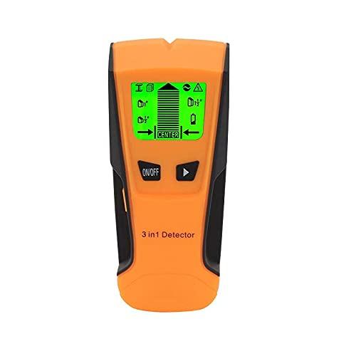 Detector de sensor escáner, 3 en 1 electrónico, sensor de posición, pared de viga de madera, detector de pared detector de pared con pantalla