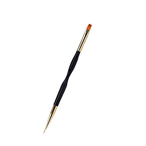 Nail Painting Line Pen Doppelkopf Dual Use Nail Art Pinsel Gel Polish Nail Drawing Pen Brush (01)