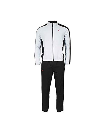 Australian L'Alpina Sport Trainingsanzug für Herren (weiß/schwarz) - 50