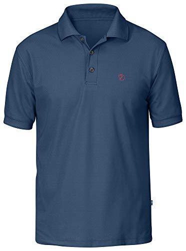 FJÄLLRÄVEN Crowley Pique Shirt Homme, Uncle Blue, M