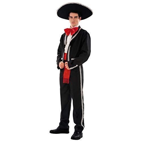 My Other Me Me-203685 Disfraz de mejicano para hombre, S (Viving Costumes 203685)