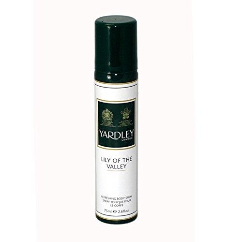 Yardley Lily of the Valley Lotion rafraîchissante en spray 75 ml