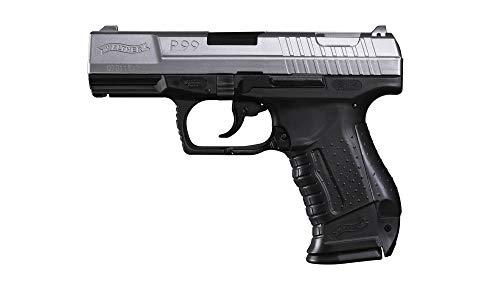 Eva Shop® Premium Softair Vollmetall Pistolen Gewehre Colt Walther Heckler & Koch Beretta BGS Elite Force Combat Zone UVM. Airsoft Kugeln Munition Qualität aus Deutschland (Walther P99 Bicolor)