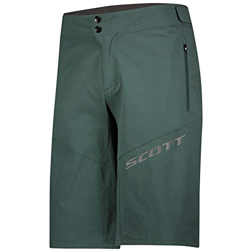 Scott Endurance Fahrrad Short Hose kurz (Inkl. Innenhose) Smoked grün 2021: Größe: M (46/48)