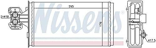 Nissens 71803 Calefacción para Automóviles