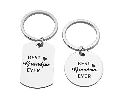 Grandma & Grandpa Key Chains
