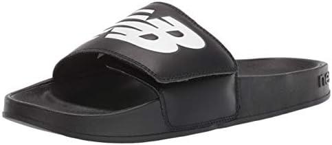 New Balance Men s 200 V1 Adjustable Slide Sandal Black White 12 product image