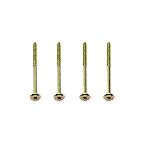 M66mm x 130mm lange Möbel-Verbindungsschrauben–Innensechskant-Flachkopf-Schlüssel für Betten, Feldbetten und Möbelmontage