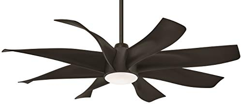 Minka-Aire F788L-ORB Dream Star 60 Inch Ceiling Fan with Integrated LED Light and DC Motor in Oil Rubbed Bronze Finish