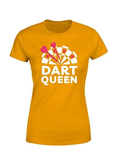 Dart & Dartscheibe Queen Damen T-Shirt...