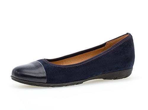 Gabor Femme Ballerines, Dame Ballerines Classiques, Chaussures dété,Chaussures décontractées,Sportives,River/Ocean,38 EU / 5 UK