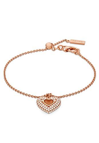 JETTE Silver Damen-Armband Silber 82 Zirkonia One Size Roségold 32012086