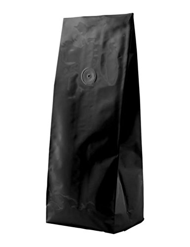 Buy BAP 5 LB Matte Black Side Gusseted Bag with Valve (300 pcs)