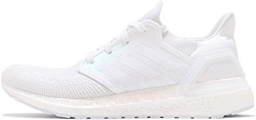 adidas Ultraboost 20 - Zapatillas de running para hombre, color blanco y negro