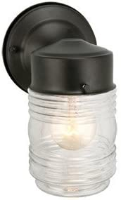 Discount mail order Cling Jelly Regular discount Jar Outdoor Downlight44; 4.5 Finish in. Black x 7.5