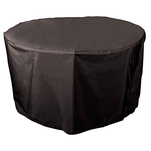 Funda para Muebles De Jardín,Patio Exterior Cubiertas Mueble Impermeable Resistente UV Redondo Jardín Mesa Funda,Usado para Jardin Cubierta Protectora