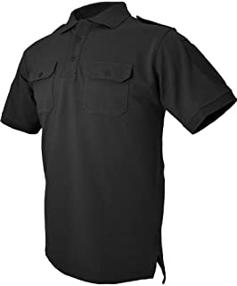 HAZARD 4 Quickdry Leo Battle Polo Tactical Velcro-Arm-Patch/Chest Pockets Breathable Shirt
