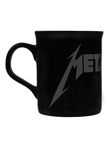 Metallica Tasse Logo schwarz. Offiziell lizenziert