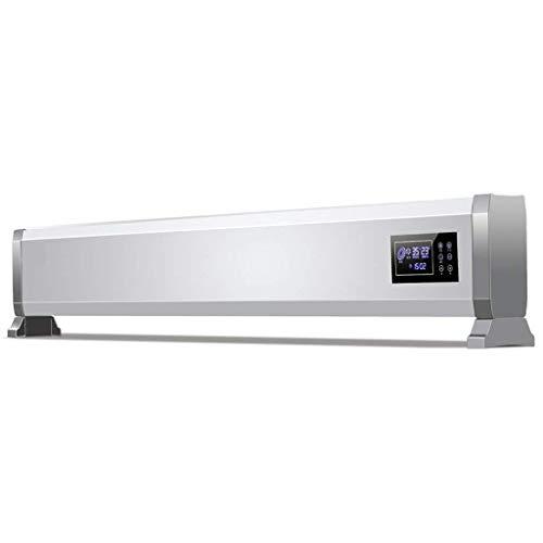 FCLGQ Elektrische Heizungen mit Thermostat Silent-3 Temperatureinstellungen Tippen LCD Display Wand- oder Bodenmontage Einstellbare Thermostat Konvektion Heizkörper Heizung