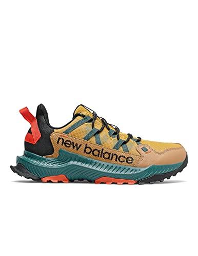 New Balance MTSHAV1, Zapatillas para Carreras de montaña Hombre, Harvest Gold, 42.5 EU