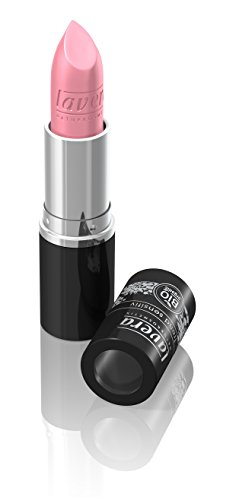 lavera Lippenstift Beautiful Lips Colour Intense ∙ Farbe Frosty Pink ∙ zart & cremig ∙ Natural & innovative Make up ✔ Bio Pflanzenwirkstoffe ∙ Lipstick ∙ Naturkosmetik 1er Pack (1 x 5 g)