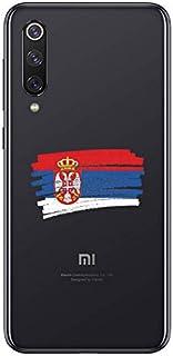ZOKKO Case for Xiaomi Mi 9 - Serbian Flag Design