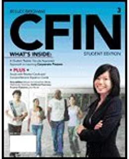 CFIN-Student Edition (3rd, 13) by Besley, Scott - Brigham, Eugene F [Paperback (2012)]