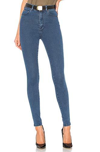 H HIAMIGOS Damen Scarlett High Skinny Onlroyal Reg SK DNM Jeans Jegging Noos, blau, 24