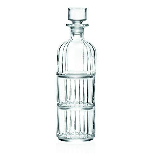 RCR Cristalleria Italiana Combo Set Bicchiere + Bottiglia, 370 milliliters, Vetro