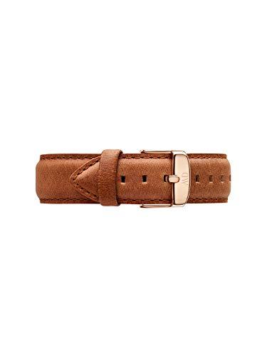 Daniel Wellington Classic Durham, Hellbraun/Roségold Uhrenarmband, 20mm, Leder, für Herren