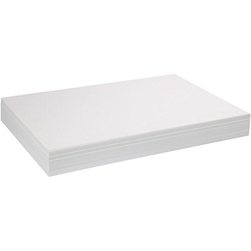 artdee Aquarellpapier, weiß, DIN A4, 300 g/m² - 100 Blatt