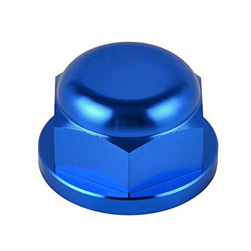 Cat and Mouse Ajuste de la Tuerca del husillo del Bloqueo de la Rueda Trasera Ajuste para 125-500 EXC EXC-F XC-W 2016-2021 125-530 EXC Exc-F XC-W SMR SX SX-F XC XC-F 2003-2012 (Color : Blue)