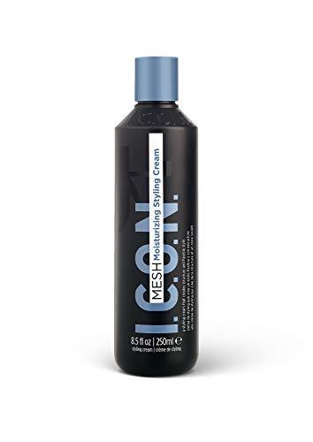 K I.C.O.N. Mesh Moisturizing Styling Cream, Salon-Quality Hair Care, 8.5-Ounce Bottle
