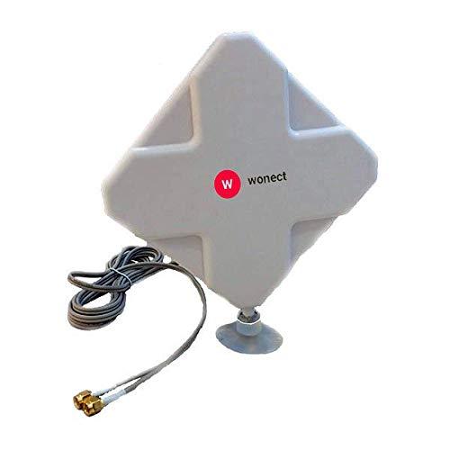 Antena 4G interior Panel 24dBi LTE Interior Exterior