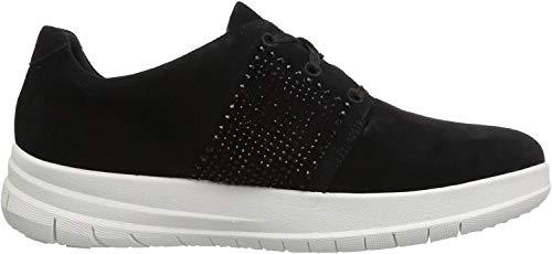 Fitflop The Skinny TM Z-Cross Sandal, Chaussures Femme, Noir (Black 001), 37 EU