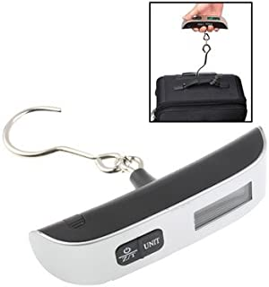 WTYD Home Tool 50kg x 50g Portable LCD Digital Hanging Travel Luggage Scale with Indoor Thermometer