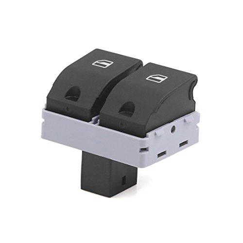 sourcingmap 6Q0959858 Interruptor Elevalunas 2 Botones 4 Patillas para 9N Cordoba
