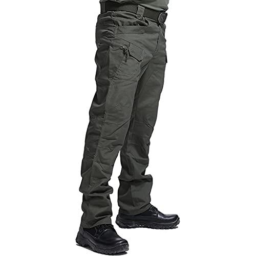 JEGERMIG Tactical Ripstop Multi-Pockets Pants Men Work Cargo...