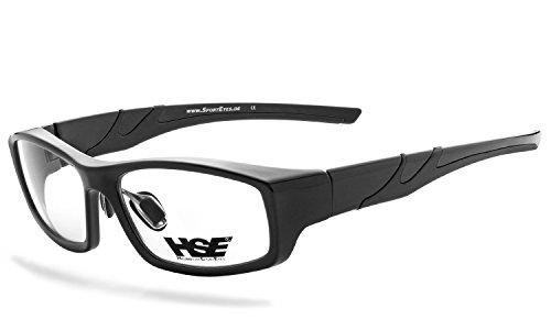 HSE SportEyes®   hochwertiges Brillengestell, Korrekturbrille, Brillenfassung, Brille   sportliches Design   Brille: 3040sb